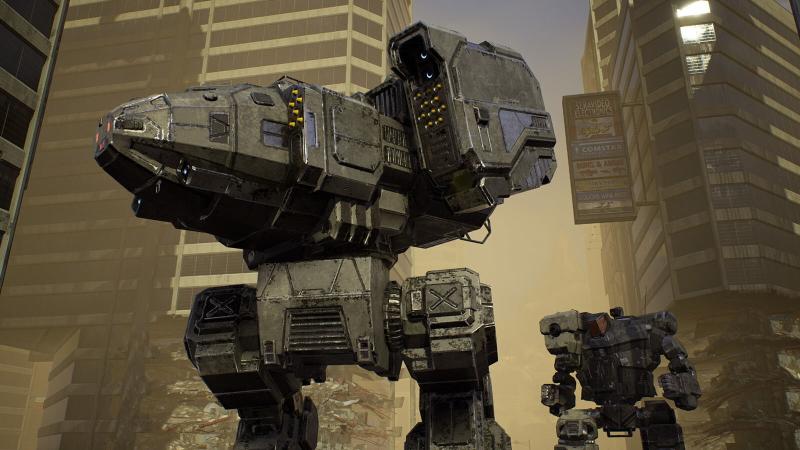 MechWarrior 5: Mercenaries' giant mechs and strategic combat make for stomping good fun