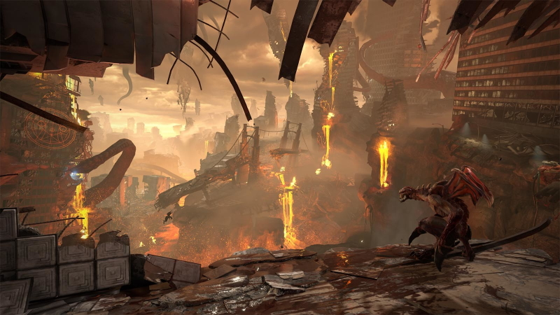 Ray tracing invades the hellish arenas of Doom Eternal