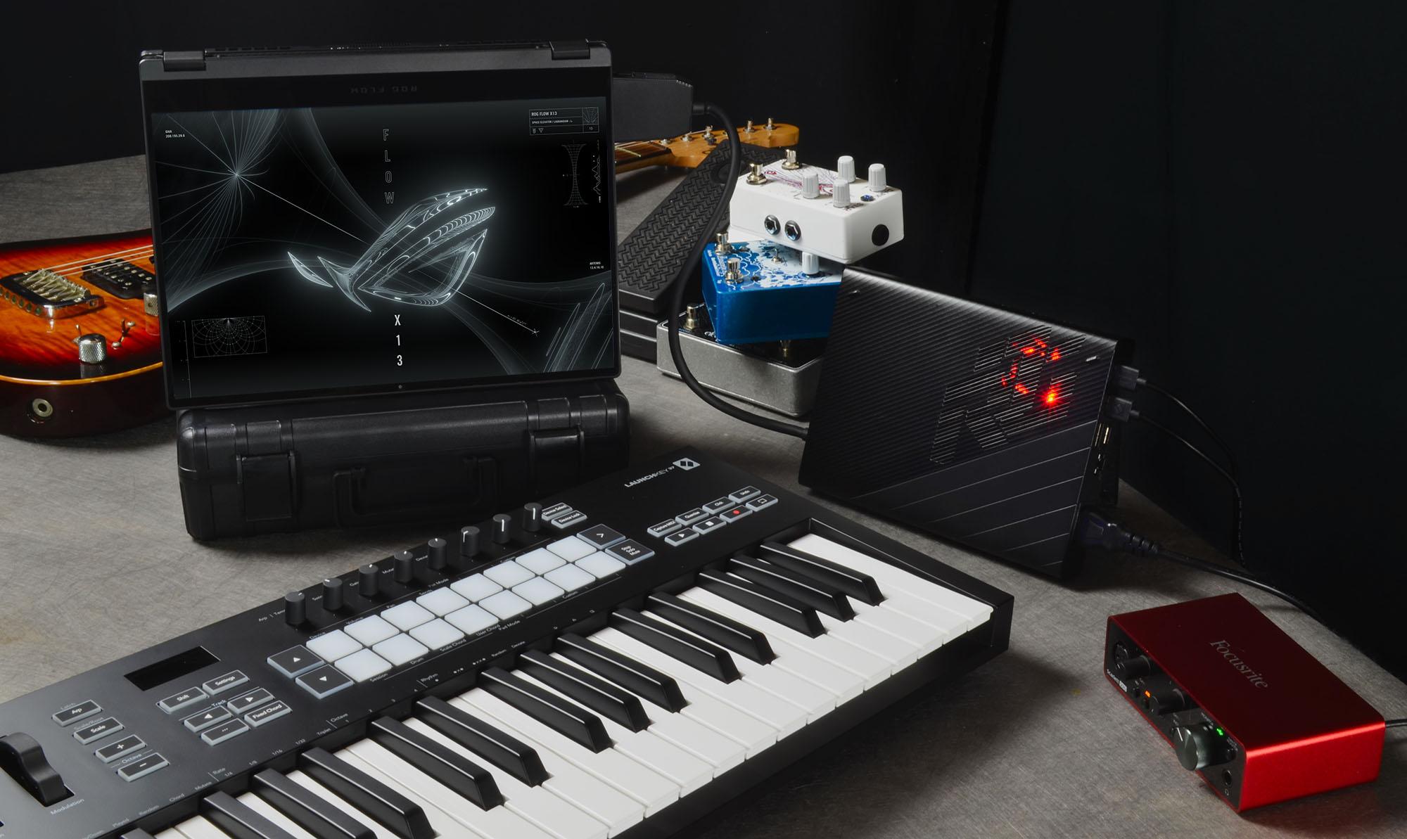 music setup - 2