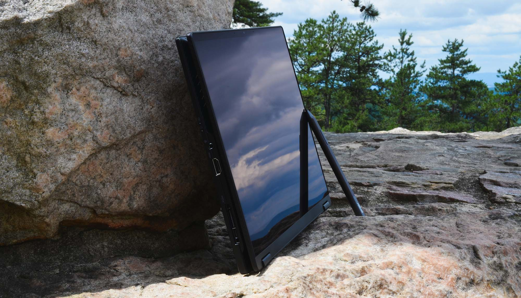 tablet mode - outdoors