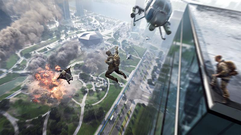 Buy Select GeForce RTX Desktops and Laptops from ROG, Get Battlefield 2042