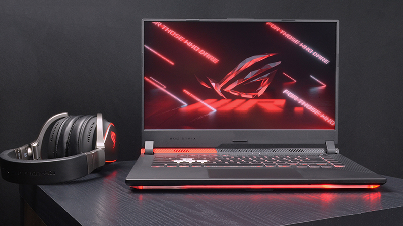 The ROG Strix G15 Advantage Edition took me on an all-AMD gaming tour