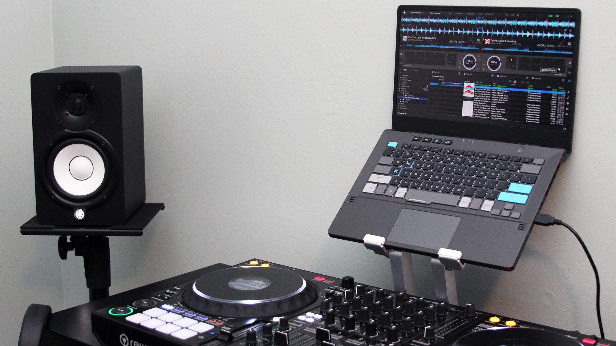 dj setup side